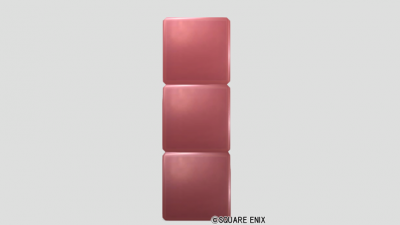3段ブロック・メタル赤