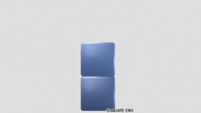 2段ブロック・メタル青
