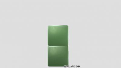 2段ブロック・メタル緑