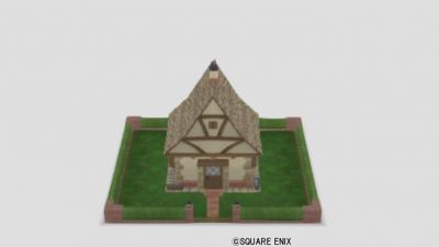 おもちゃの四角い家