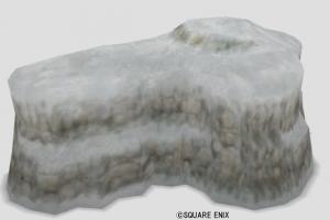 おもちゃの岩山・雪