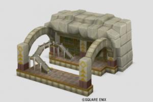 ガタラ駅の模型