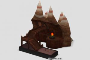 グレン駅の模型