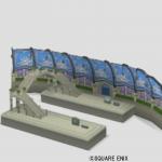ジュレット駅の模型