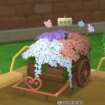 お花の荷車・パステル