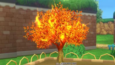 炎の領界の木