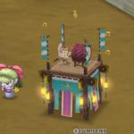【ハウジング】庭具 > 像・人形(庭)「盆踊りフウラ・庭」