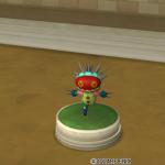 【ハウジング】庭具 > 像・人形(庭)「ニードルマンの像・庭」