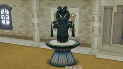 【ハウジング】庭具 > 像・人形(庭)「エルフの銅像」