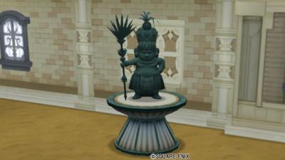 【ハウジング】庭具 > 像・人形(庭)「ドワーフの銅像」