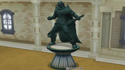 【ハウジング】庭具 > 像・人形(庭)「オーガの銅像」