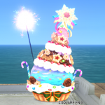 【ハウジング】庭具 > その他(庭)「クリスマスお菓子ツリー」