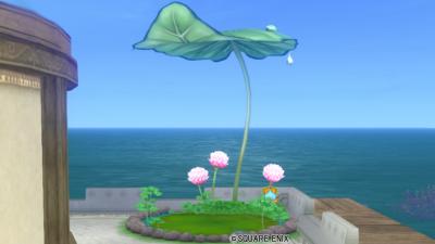 【ハウジング】庭具 > その他(庭)「モンスターのおうち・葉」