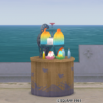 【ハウジング】庭具 > その他(庭)「かき氷テーブル」