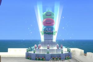 【ハウジング】庭具 > その他(庭)「スライムタワー噴水」