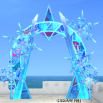 【ハウジング】庭具 > その他(庭)「氷の領界のアーチ」