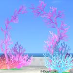 【ハウジング】庭具 > その他(庭)「水の領界のサンゴアーチ」