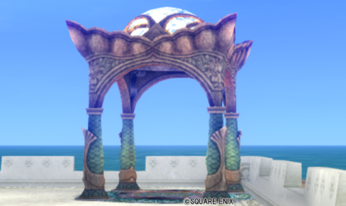 【ハウジング】庭具 > その他(庭)「水の領界のガゼボ」