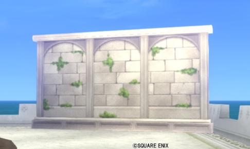 【ハウジング】庭具 > その他(庭)「朽ちた遺跡の庭用壁」