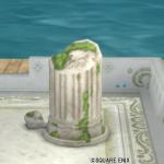 【ハウジング】庭具 > その他(庭)「朽ちた遺跡の庭用柱」