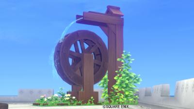 【ハウジング】庭具 > その他(庭)「森のこびとの水車」