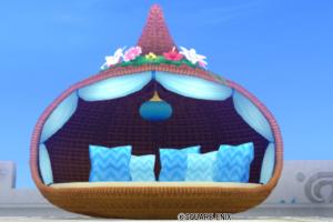 【ハウジング】庭具 > その他(庭)「お庭用リゾートベッド」