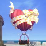 【ハウジング】庭具 > その他(庭)「ハート気球のガゼボ」