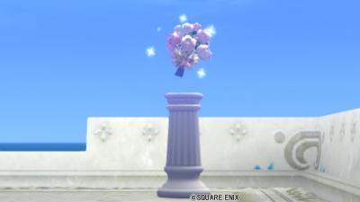 【ハウジング】庭具 > その他(庭)「ふわふわブーケ飾り」
