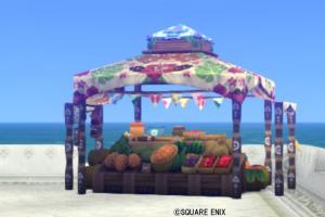 【ハウジング】庭具 > その他(庭)「夏野菜の屋台」
