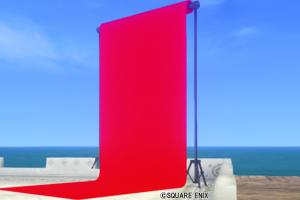 【ハウジング】庭具 > その他(庭)「庭用赤の背景スクリーン」