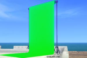 【ハウジング】庭具 > その他(庭)「庭用緑の背景スクリーン」