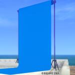 【ハウジング】庭具 > その他(庭)「庭用青の背景スクリーン」