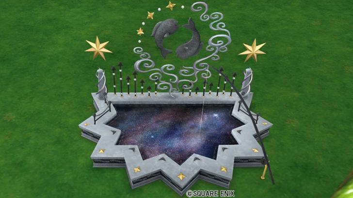 星空の釣り堀