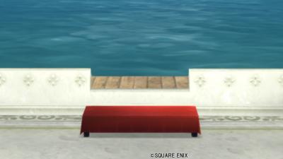 【ハウジング】庭具 > その他(庭)「お茶屋のベンチ」