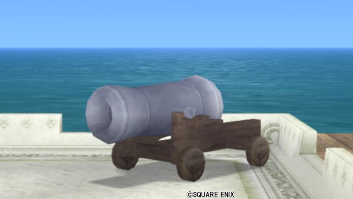 【ハウジング】庭具 > その他(庭)「大砲のおもちゃ」