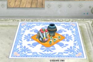【ハウジング】庭具 > その他(庭)「ウェディお花見セット」