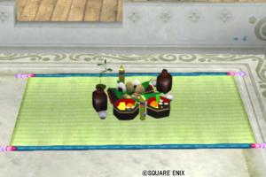 【ハウジング】庭具 > その他(庭)「エルフお花見セット」