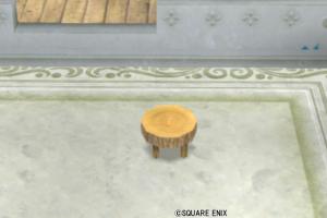 【ハウジング】庭具 > その他(庭)「丸太のイス」