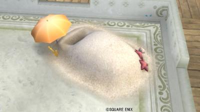 【ハウジング】庭具 > その他(庭)「サマーな砂風呂」