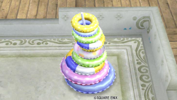 【ハウジング】庭具 > その他(庭)「うきわのタワー」