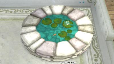 【ハウジング】庭具 > その他(庭)「カエル池」