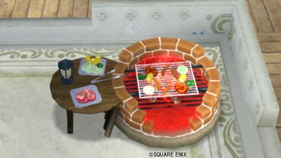 【ハウジング】庭具 > その他(庭)「バーベキューセット」
