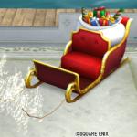 【ハウジング】庭具 > その他(庭)「クリスマスのソリ」