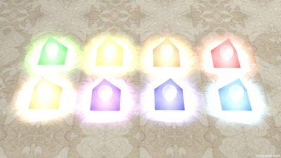 色変わり三角ライト(明るい)