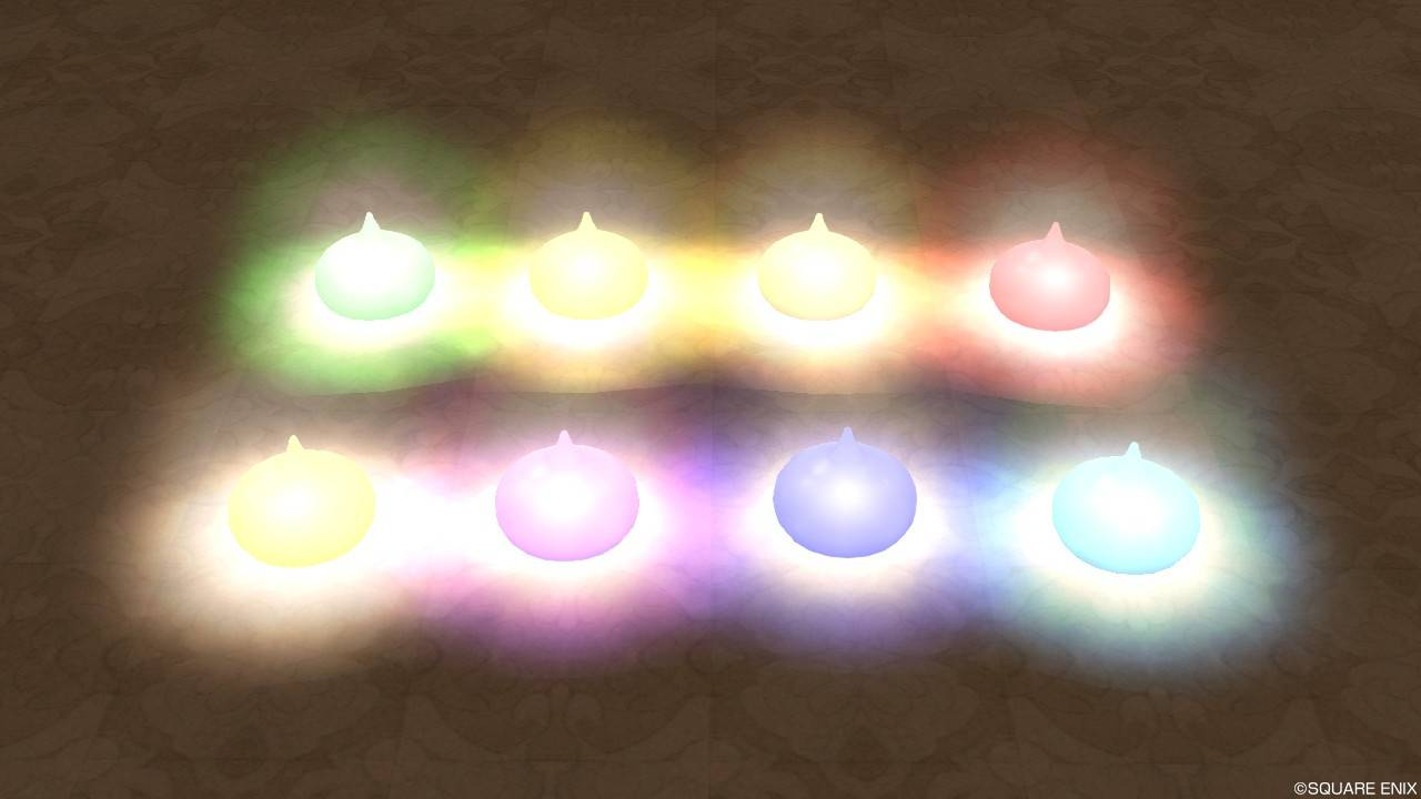 色変わりスライムライト(暗い)