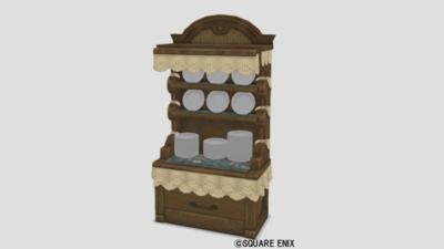 ネコ姫の食器棚