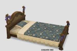 ネコ姫のベッド