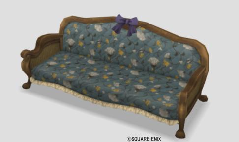 ネコ姫のソファ