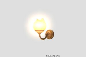 ネコ姫の壁かけライト