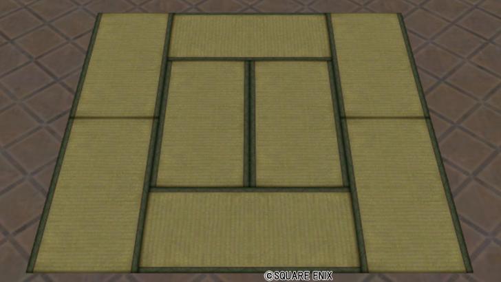 【ハウジング】家具 > ゆか「いなせな畳」